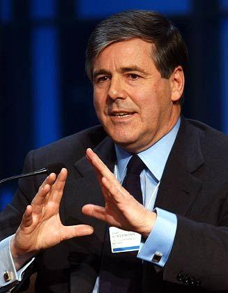 Stammgast: Der Schweizer Josef Ackermann, Vorstandssprecher der Deutschen Bank, ist Mitglied im WEF-Board