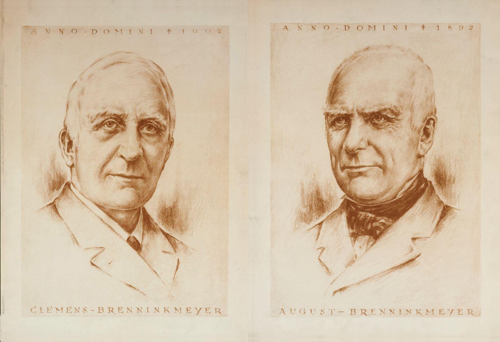 Clemens (li.) und August Benninkmeijer, / Clemens und August Brenninkmeyer