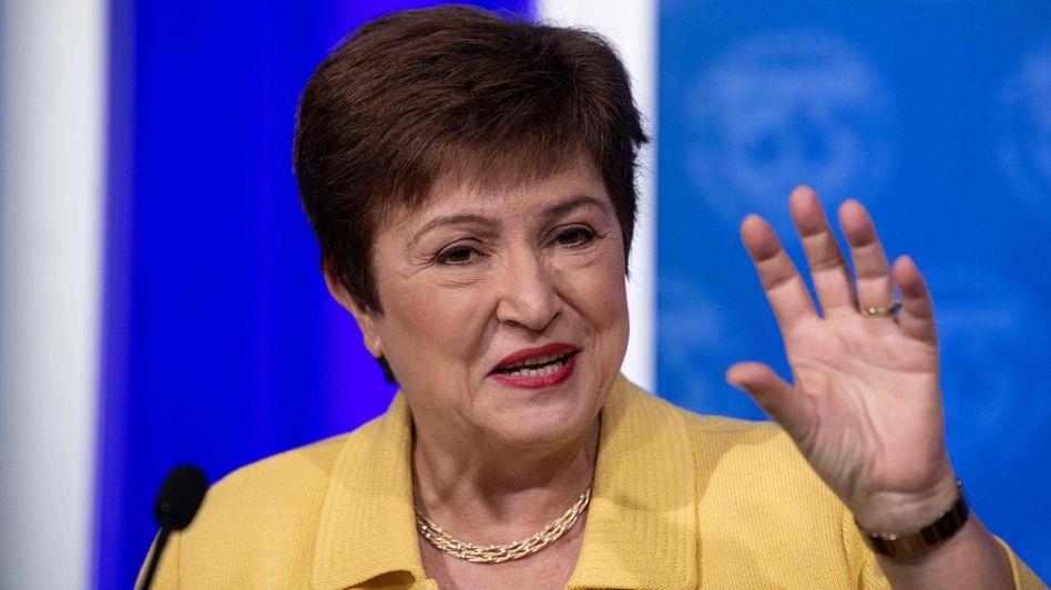 Folgt der Staatengemeinschaft: IWF-Generalsekretärin Kristalina Georgieva