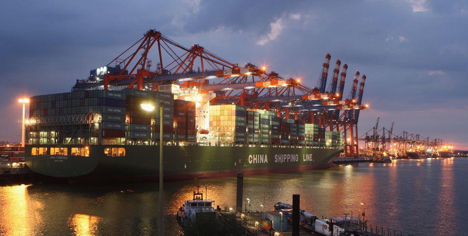 Exporte brummen: Die deutsche Wirtschaft wächst