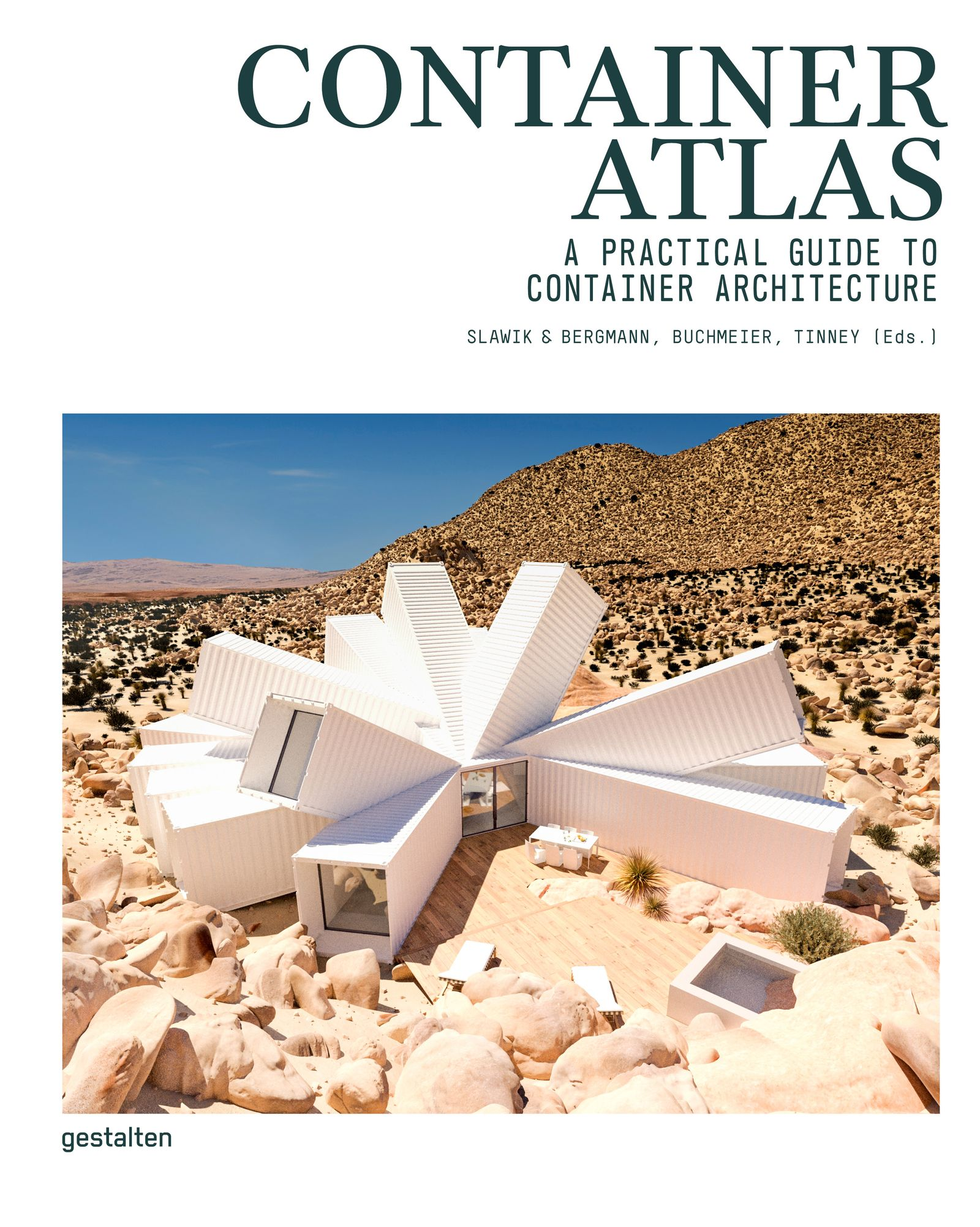BUCHCOVER Container Atlas / gestalten Verlag