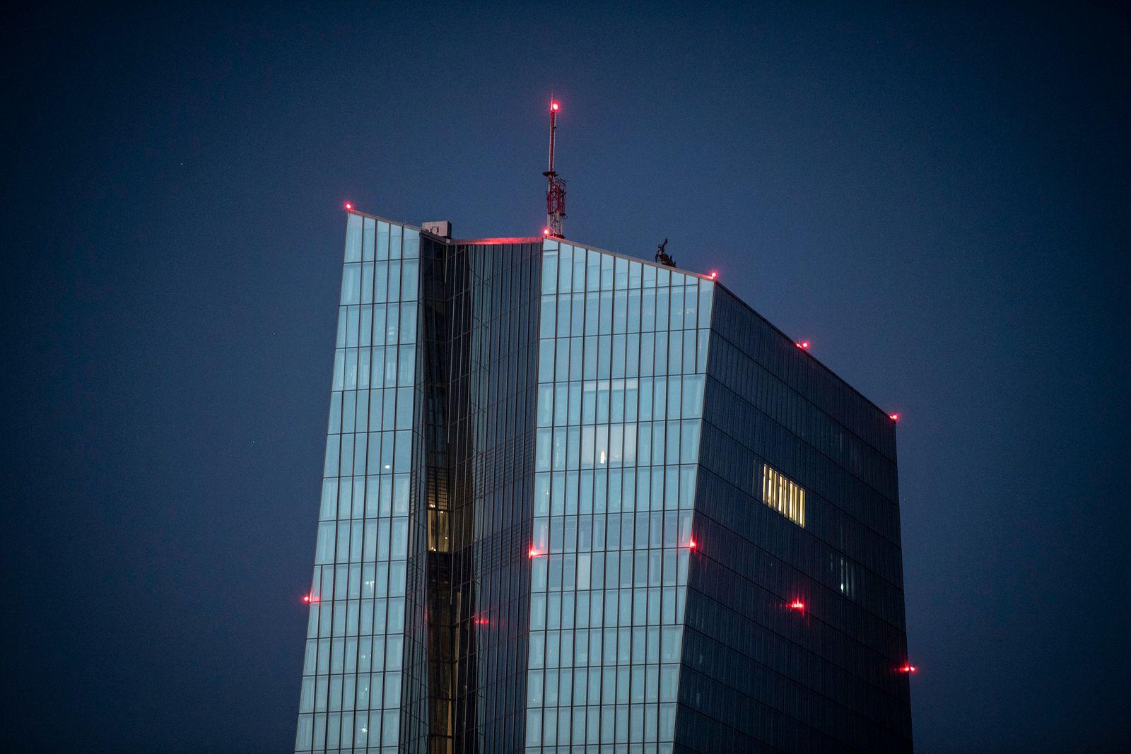 Letzte Lichter in der EZB