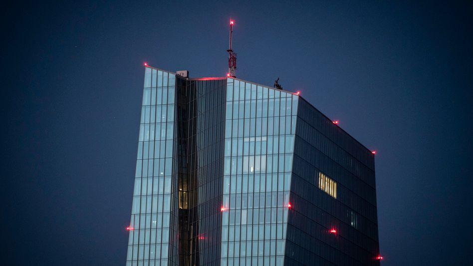 Bollwerk der Begehrlichkeit: EZB-Tower in Frankfurt.