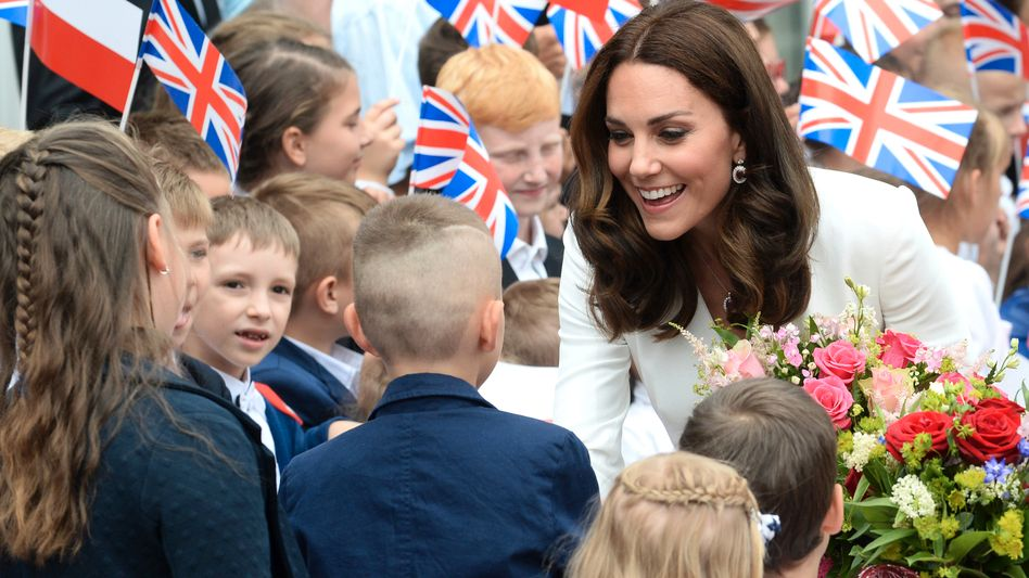 Herzogin Kate: Die Gemahlin von Prinz William zählt zu den Sympathieträgern des Königreichs