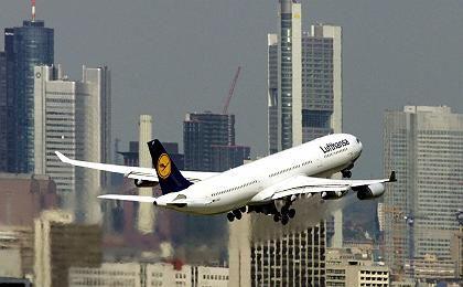 Aufwärts: Die Lufthansa hat ihren Gewinn in den ersten neun Monaten dieses Jahres deutlich gesteigert
