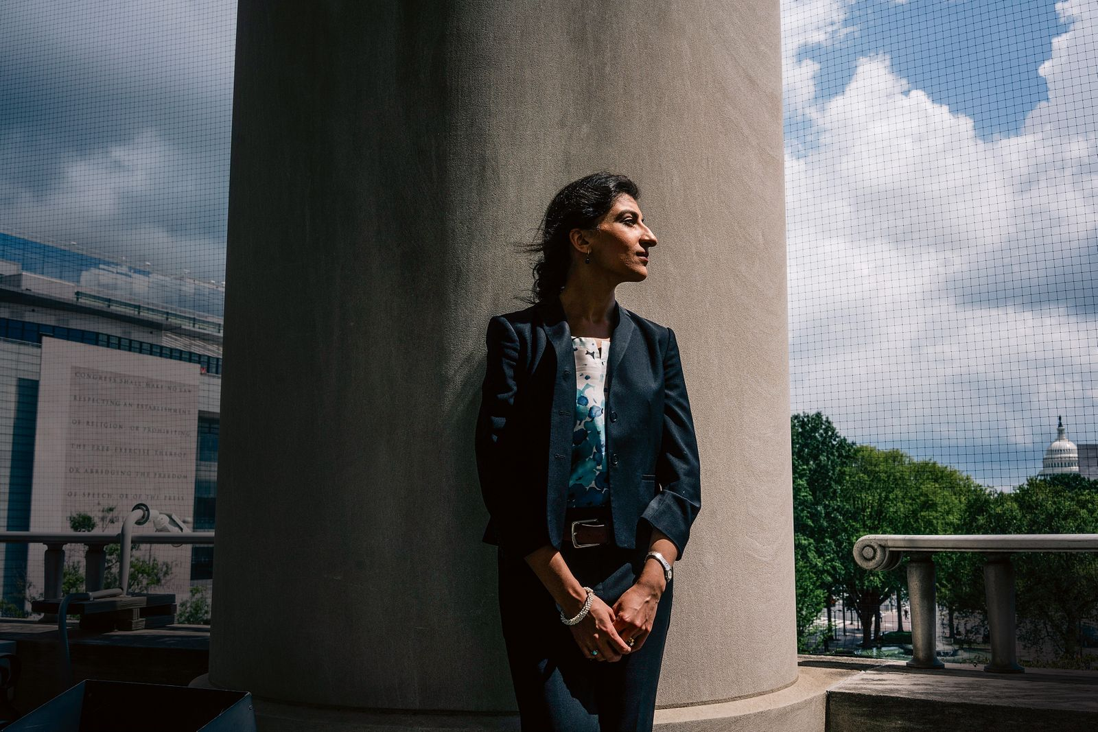 Lina Khan, a rising star in policymaking circles.