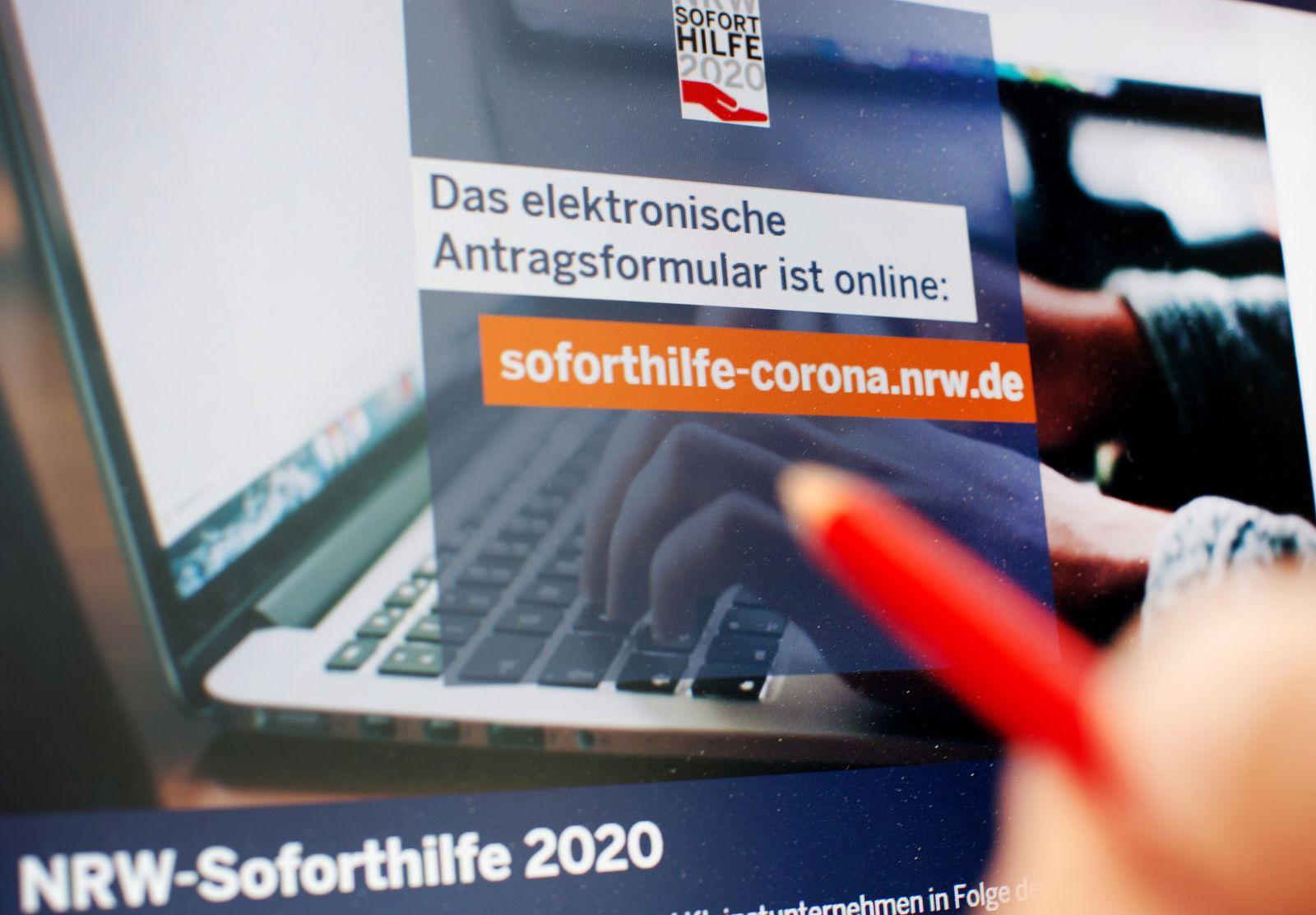 Betrugsverdacht: NRW stoppt Auszahlung von Soforthilfen