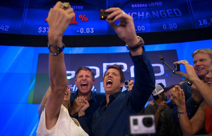 Nasdaq im Höhenrausch: Nicht nur die GoPro Gründer hatten beim Börsengang an der Technologiebörse ihre helle Freude. Wann platzt die Blase?