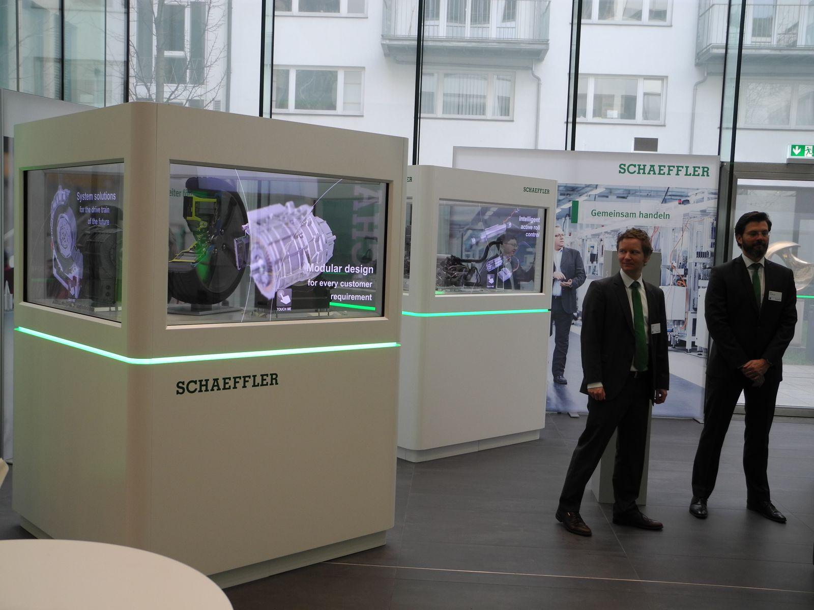 Bilanz-PK Schaffler / Bauteile