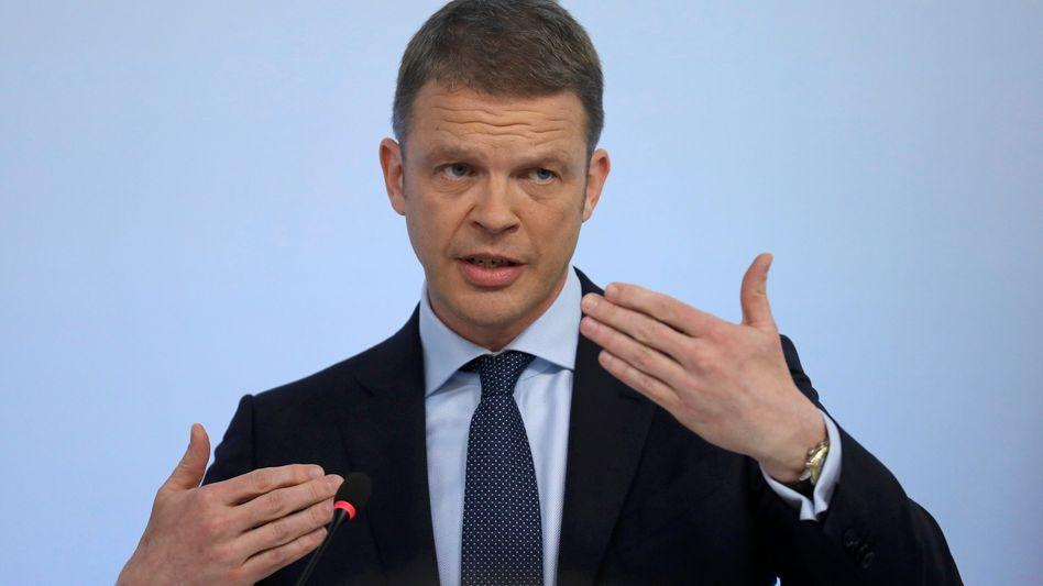 Christian Sewing, einer der beiden Kronprinzen der Deutschen Bank für den CEO-Posten.