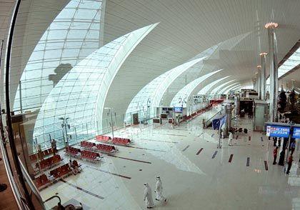 Flughafen Dubai: Hoffnung auf baldige Höhenflüge