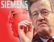 Ambitioniert: Siemens-Chef von Pierer will bis 2006 beim Gewinn mindestens zweistellig zulegen