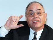 Der Vorstandsvorsitzende der Viag, Wilhelm Simson, soll an der Spitze der neuen Gesellschaft stehen.