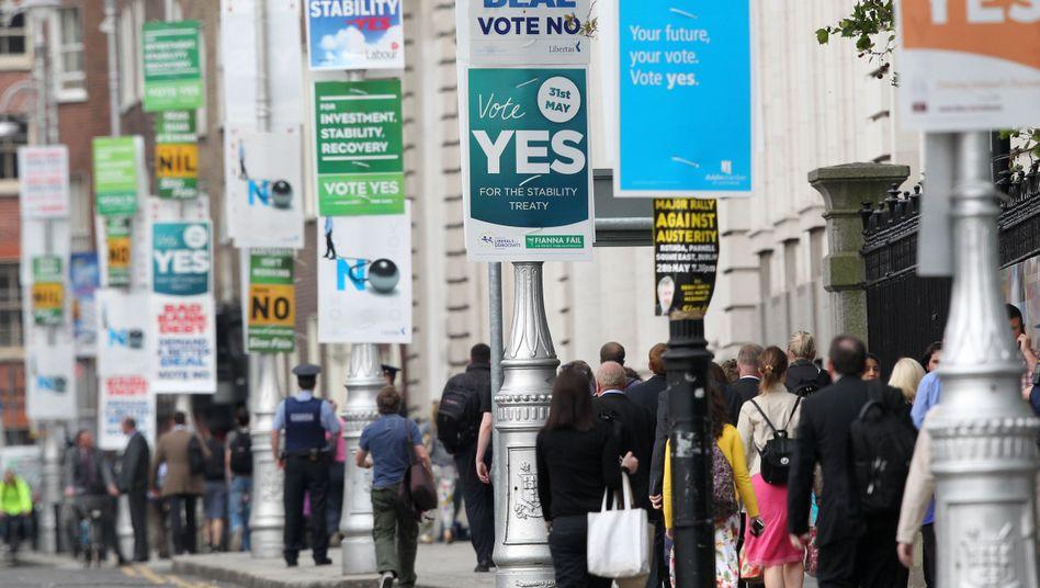 Die Iren haben gewählt: Ja zum EU-Stabilitätspakt