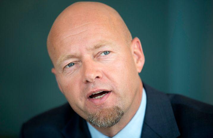 Unbequemer Investor: Norwegens Staatsfondschef Yngve Slyngstad will Managergehälter deckeln