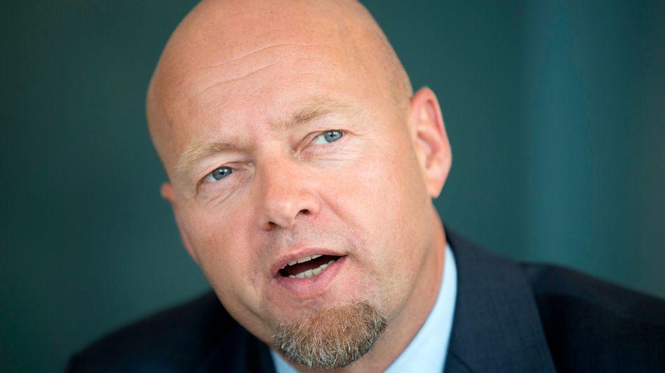 Yngve Slyngstad, Chef of Norges Bank Investment Management, des norwegischen Staatsfonds