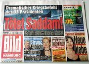 """Krieg, Liebe, Kindergarten-Geld: Die Donnerstagausgabe der """"Bild""""-Zeitung"""