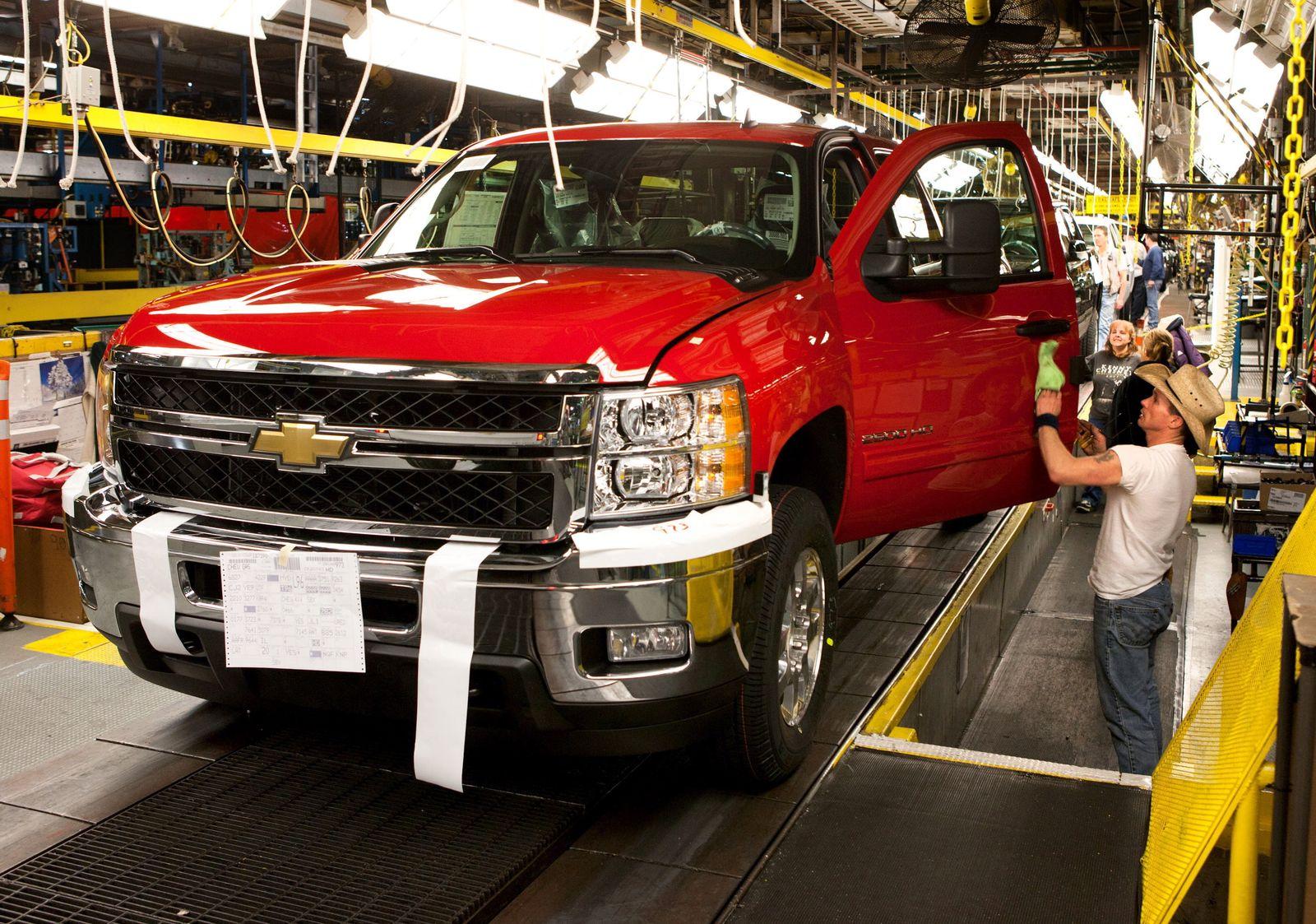 Konjunktursorgen in den USA / Chevrolet Silverado HD Pickup / US-Modelle