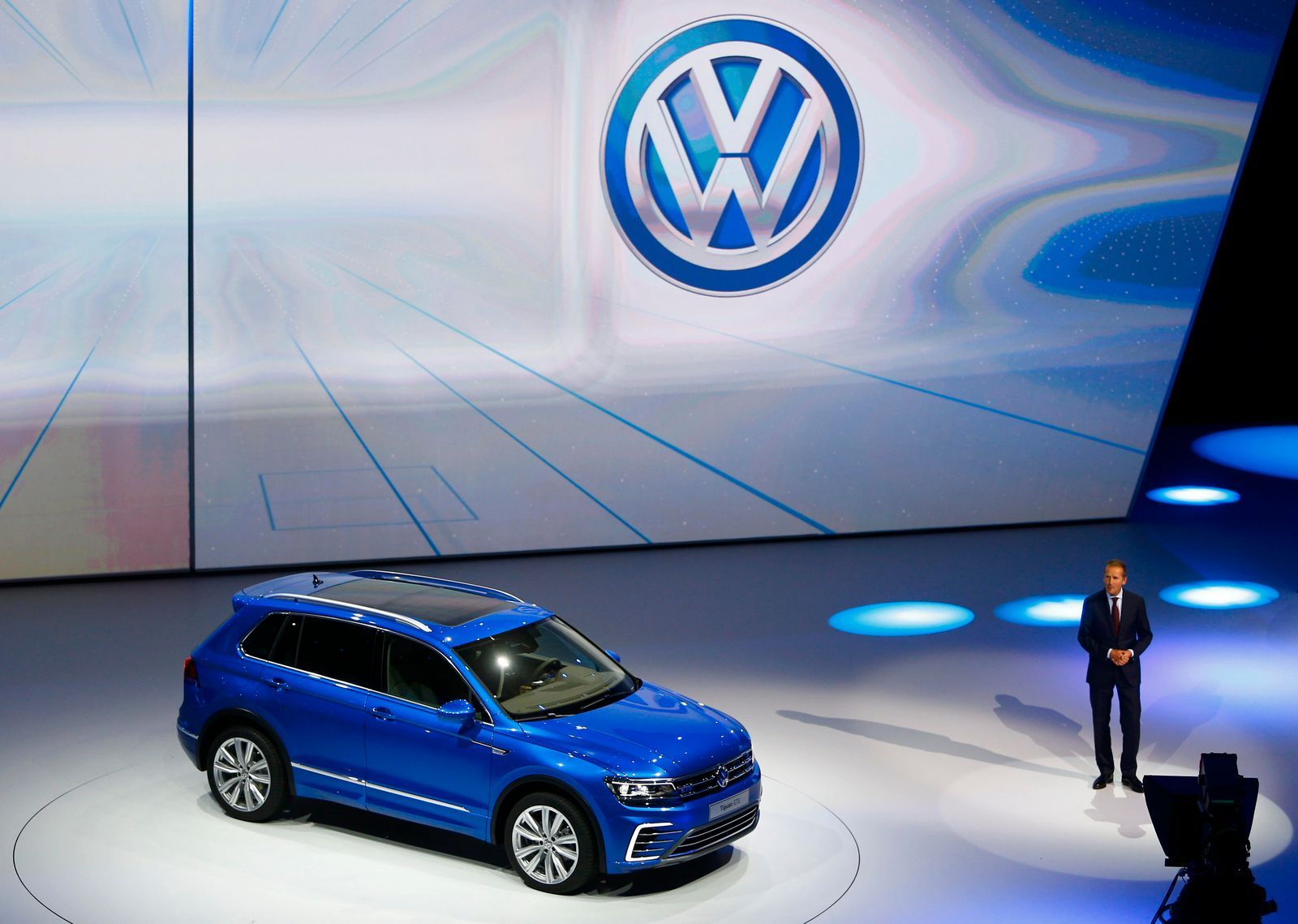 2015 / IAA / VW Tiguan GTE / Herbert Diess