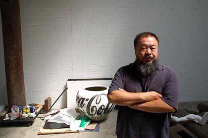 """Konzeptkünstler Weiwei: """"Ich hasse diese Gesellschaft"""""""