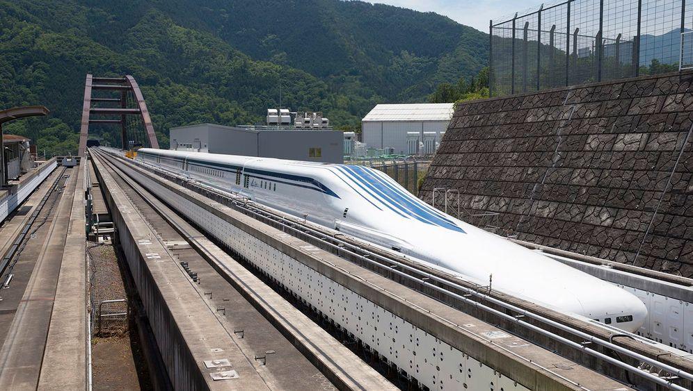 Japans High-Tech-Export: Magnetbahn für die USA