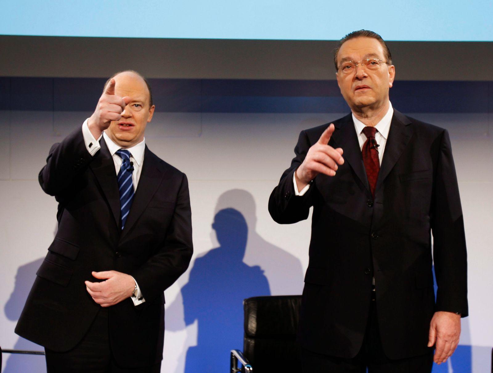 Schweizer Großbank UBS bleibt 2009 in den roten Zahlen