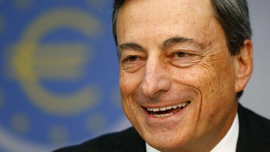 Mario Draghi: Der ECB-Chef will die Zinsen längere Zeit niedrig halten