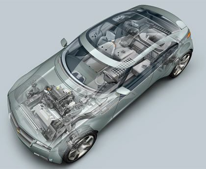 General Motors Volt: Auf Technik konzetriert
