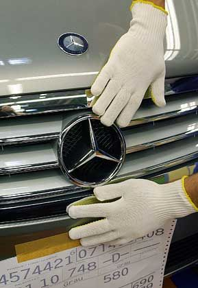 Absatzplus in den USA: Mercedes hat auf dem weltgrößten Automarkt im Januar deutlich mehr Wagen verkauft als im Vorjahresmonat