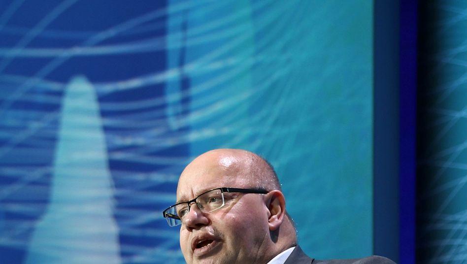 """Wirtschaftsminister Peter Altmaier auf dem Digital-Gipfel: die Veranstaltung stand unter dem Motto """"Künstliche Intelligenz - ein Schlüssel für Wachstum und Wohlstand"""""""