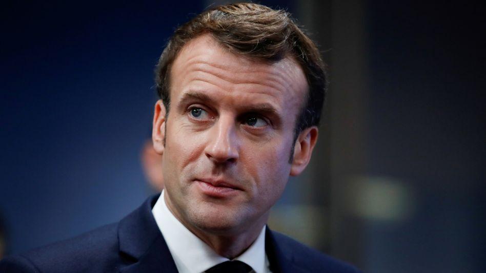 Der französische Präsident Emmanuel Macron plant umfangreiche Hilfen für die französischen Autobauer