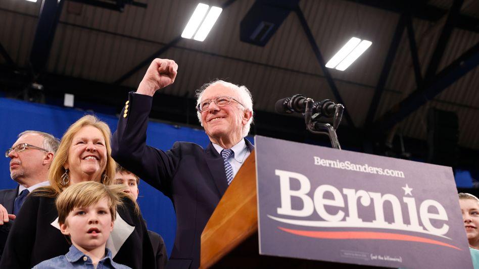 Auf dem Weg ins Weiße Haus? Noch glauben die Börsianer offensichtlich nicht, dass Bernie Sanders ernsthafte Chancen hat, nächster US-Präsident zu werden.