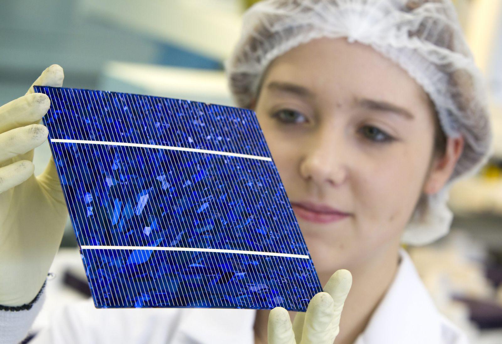Produktion / Solar / Solarzelle