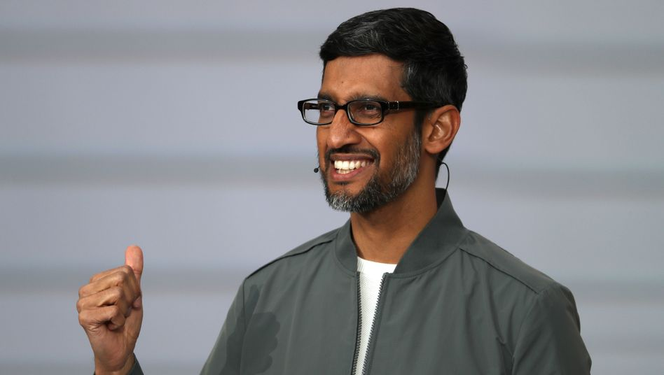 Alphabet- und Google-Chef Sundar Pichai (Archivaufnahme)