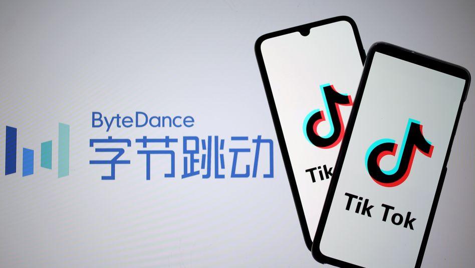 TikTok-Logo: Der Streit zwischen China und den USA spitzt sich immer weiter zu