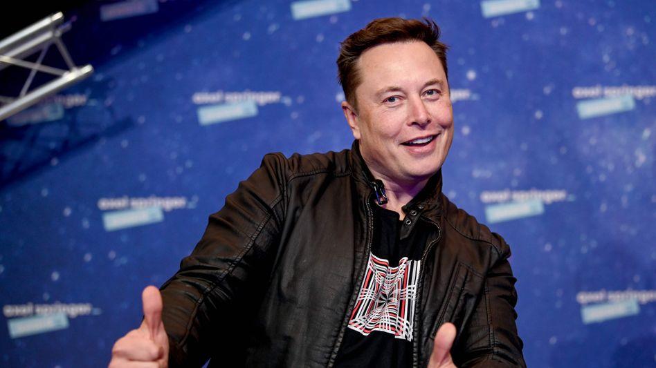 Von Platz 31 auf Rang 2: Tesla-Chef Elon Musk