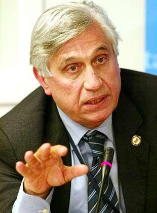 Soll zurücktreten, will aber nicht: Zentralbankchef Antonio Fazio