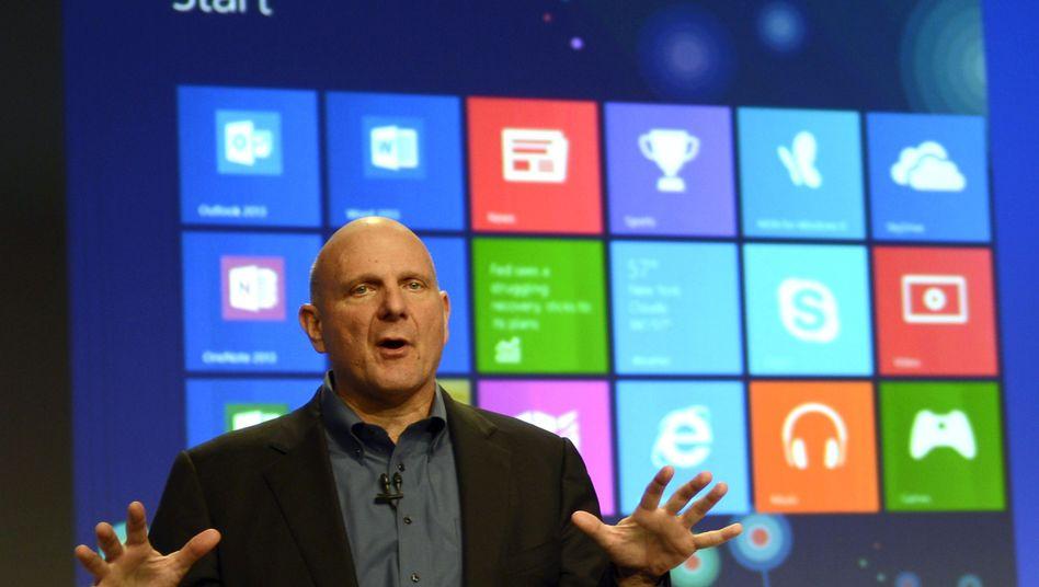 Steve Ballmer: Den rasanten Wandel - weg vom stationären PC, hin zu Smartphones und Tablets - hatte der Microsoft-Chef lange unterschätzt