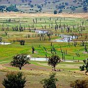 Spektakulär: Die Dürre lässt längst versunkene Dinge wieder auftauchen