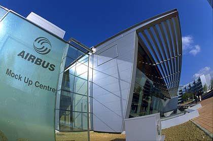 Europaweit 10.000 Arbeitsplätze weniger?:Airbus-Standort im französischen Toulouse
