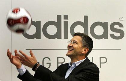 Setzt auf Fußball-EM und Olympische Spiele 2008:Adidas-Chef Hainer