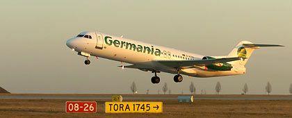 Mehr DBA, weniger Gexx: Gexx-Flugzeug beim Start in Leipzig/Halle