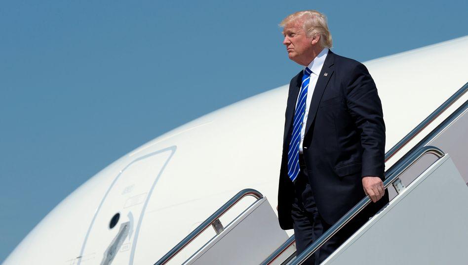 """Trump auf Auslandsreise: Für deutsche Mittelständler wäre eine """"Border Adjustment Tax"""" besonders gefährlich"""
