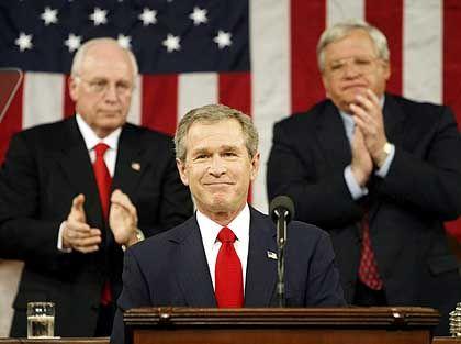 Applaus: Kein US-Präsident hat jemals soviel Schulden gemacht wie George W. Bush