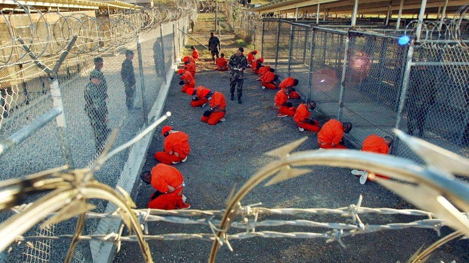 Gefangenenlager in der US-Basis Guantanamo Bay (Archivaufnahme)
