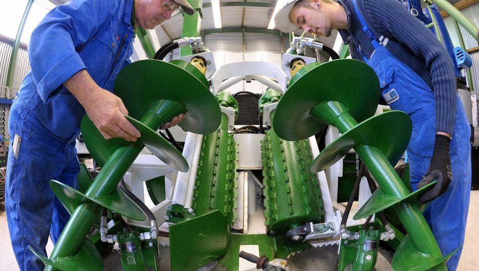 Maschinenbau: Mittelstand fühlt sich drangsaliert