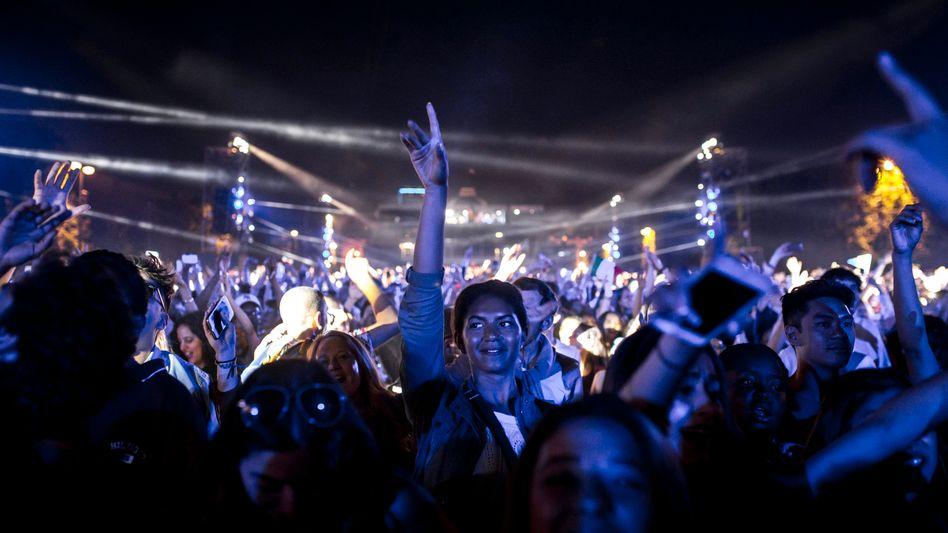 Fans elektronischer Musik (Symbolbild)