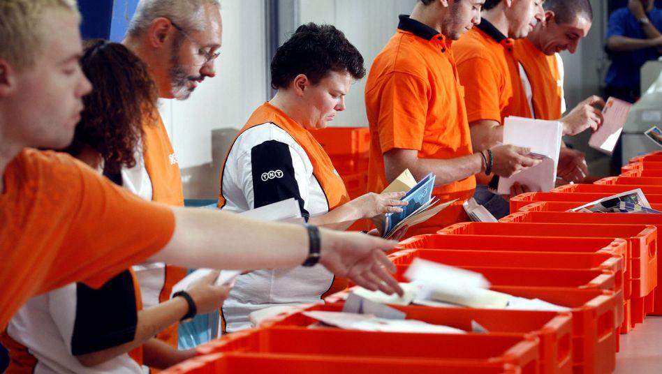 Zieht Interesse auf sich: Der niederländische Logistikkonzern TNT