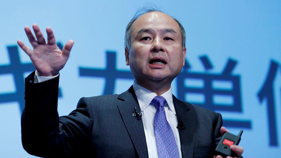 Setzt mit Softbank viel Geld auf E-Commerce-Optimierer: Japans Tech-Investor Masayoshi Son