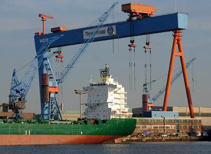 """Schiffbau in Kiel: """"Gespräche über eine partnerschaftliche Zusammenarbeit"""""""